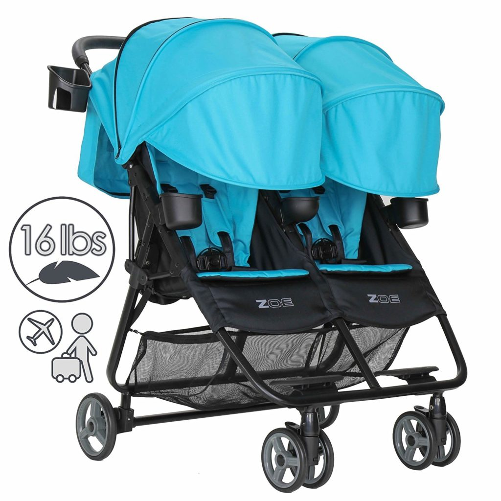 Best Side By Side Double Stroller For Infant And Toddler