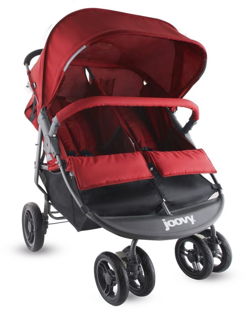 compact double strollers for infant and toddler